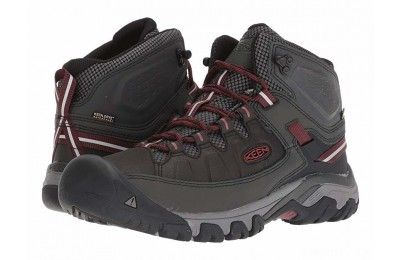 Keen Targhee Exp Mid WP Raven/Fried Brick
