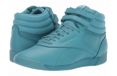 Reebok Lifestyle Freestyle Hi Icons Mineral Mist/White - SALE