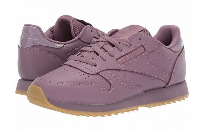 Reebok Lifestyle Classic Leather Ripple Mid Noble Orchid/Gum - SALE