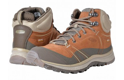 Keen Terradora Leather Mid Waterproof Timber/Cornstalk