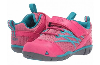 Keen Kids Chandler CNX (Toddler) Bright Pink/Lake Green