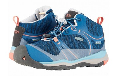 Keen Kids Terradora Mid WP (Little Kid/Big Kid) Aqua Sea/Coral