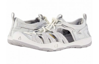 Keen Kids Moxie Sandal (Little Kid/Big Kid) Silver