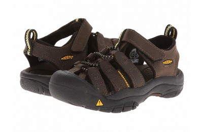 Keen Kids Newport Premium (Toddler/Little Kid) Dark Brown