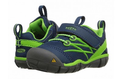 Keen Kids Chandler CNX (Toddler) Poseidon/Jasmine Green
