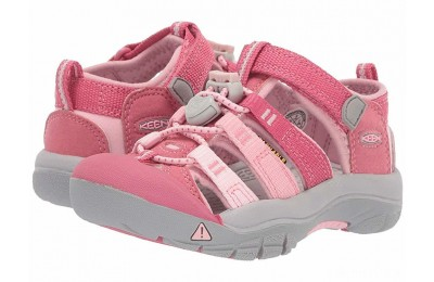 Keen Kids Newport H2 (Toddler/Little Kid) Rapture Rose/Powder Pink