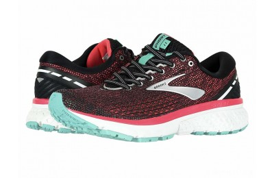 Brooks Ghost 11 Black/Pink/Aqua - SALE