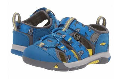 Keen Kids Newport H2 (Toddler) Vibrant Blue Sharks