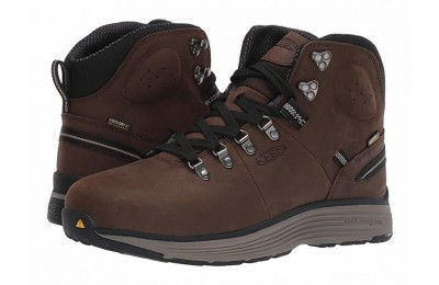 "Keen Utility Manchester 6"" Aluminum Toe WP Cascade Brown/Brindle"