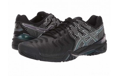 ASICS Gel-Resolution 7 Black/Silver 2 - SALE