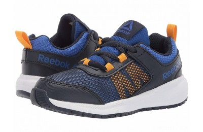 Reebok Kids Road Supreme (Little Kid/Big Kid) Navy/Cobalt/Gold - SALE