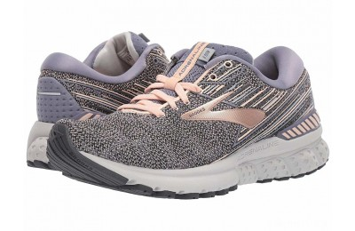 Brooks Adrenaline GTS 19 Grey/PalePeach/Grey - SALE