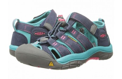 Keen Kids Newport H2 (Little Kid/Big Kid) Midnight Navy/Baltic