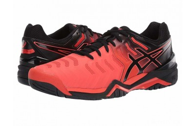 ASICS Gel-Resolution 7 Cherry Tomato/Black - SALE