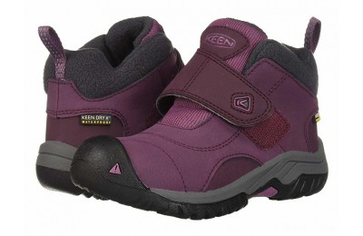 Keen Kids Kootenay II WP (Toddler/Little Kid) Winetasting/Tulipwood