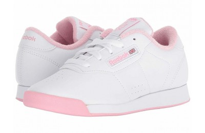Reebok Kids Princess (Little Kid) White/Light Pink - SALE