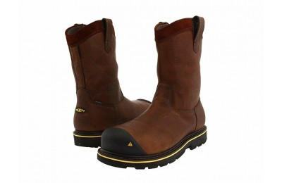 Keen Utility Dallas Wellington Dark Brown