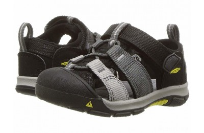 Keen Kids Newport H2 (Toddler) Black/Magnet