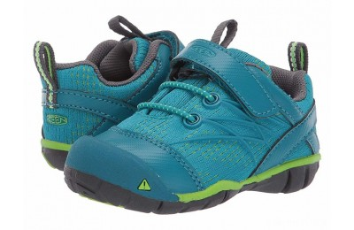 Keen Kids Chandler CNX (Toddler) Tahitian Tide/Bright Green