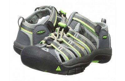 Keen Kids Newport H2 (Toddler/Little Kid) Racer Gray
