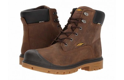 "Keen Utility Baltimore 6"" WP Soft Toe Brown"