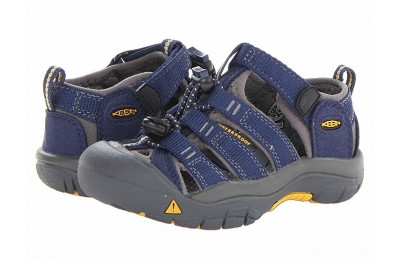 Keen Kids Newport H2 (Toddler/Little Kid) Blue Depths/Gargoyle