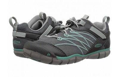Keen Kids Chandler CNX (Little Kid/Big Kid) Steel Grey/Wasabi