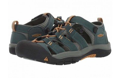 Keen Kids Newport H2 (Little Kid/Big Kid) Green Gables/Wood Thrush