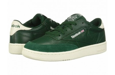 Reebok Lifestyle Club C 85 MU Dark Green/Chalk - SALE