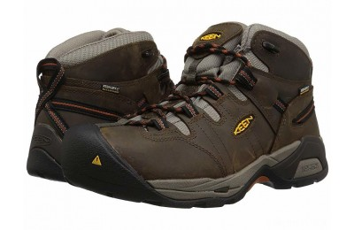 Keen Utility Detroit XT Mid Soft Toe Waterproof Black Olive/Leather Brown