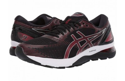 ASICS GEL-Nimbus® 21 Black/Classic Red - SALE