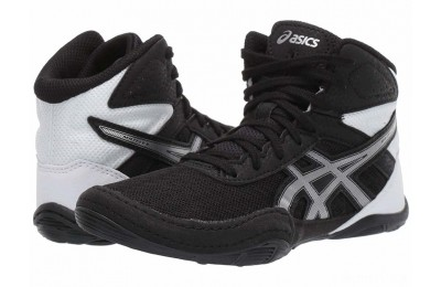 ASICS Kids Matflex 6 (Toddler/Little Kid/Big Kid) Black/Silver - SALE