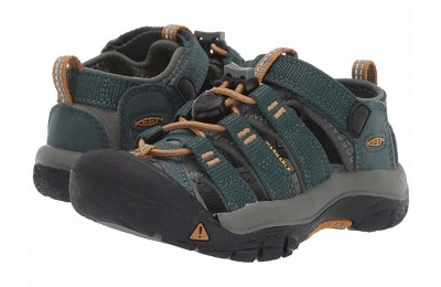 Keen Kids Newport H2 (Toddler/Little Kid) Green Gables/Wood Thrush