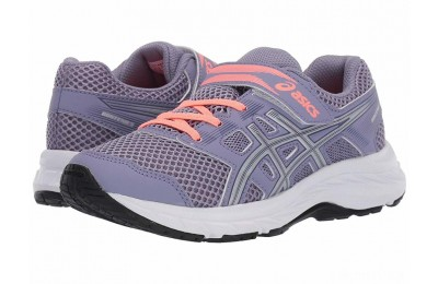 ASICS Kids Gel-Contend 5 (Toddler/Little Kid) Ash Rock/Silver - SALE