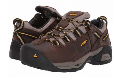 Keen Utility Detroit XT Int. Met Steel Toe Cascade Brown/Goldenrod