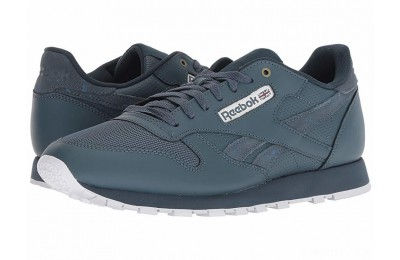 Reebok Lifestyle Classic Leather MU Deep Sea/Mt Fuji/White - SALE