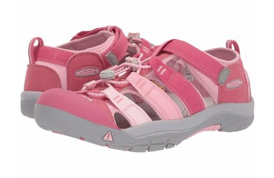 Keen Kids Newport H2 (Little Kid/Big Kid) Rapture Rose/Powder Pink