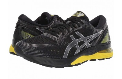 ASICS GEL-Nimbus® 21 Black/Lemon Spark - SALE