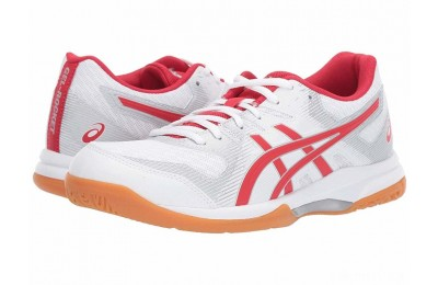 ASICS GEL-Rocket® 9 White/Classic Red - SALE