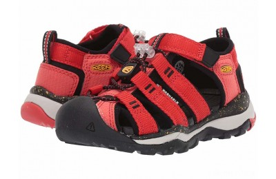 Keen Kids Newport Neo H2 (Toddler/Little Kid) Fiery Red/Golden Rod