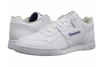 Reebok Lifestyle Workout Plus White/Royal - SALE