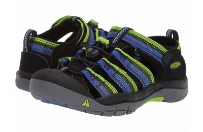 Keen Kids Newport H2 (Little Kid/Big Kid) Racer Black