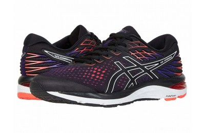 ASICS GEL-Cumulus® 21 Black/Flash Coral - SALE