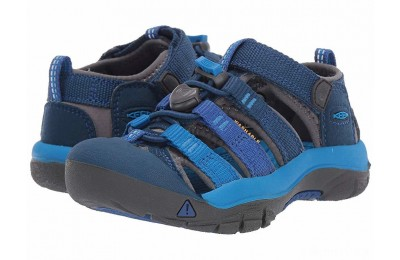 Keen Kids Newport H2 (Toddler/Little Kid) Blue Opal/Vibrant Blue