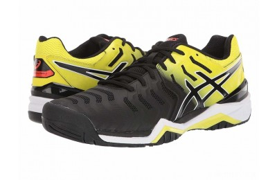 ASICS Gel-Resolution 7 Black/Sour Yuzu - SALE