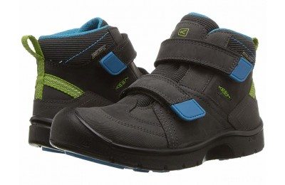Keen Kids Hikeport Mid Strap WP (Little Kid/Big Kid) Magnet/Greenery