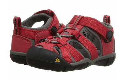 Keen Kids Seacamp II CNX (Toddler) Racing Red/Gargoyle
