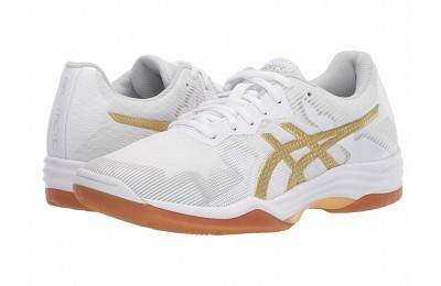 ASICS GEL-Tactic® White/Rich Gold - SALE