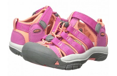 Keen Kids Newport H2 (Toddler/Little Kid) Very Berry/Fusion Coral