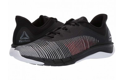 Reebok Fast Tempo Flexweave Black/White/Neon Red - SALE